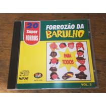 Cd - Forrozao Do Barulho 20 Super Forros Varias Bandas