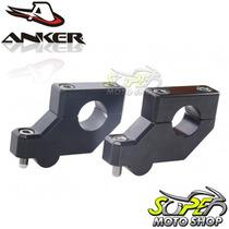 Riser Anker Para Guidão ( 22 Mm ) 7/8 Preto Dl V Strom 650