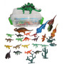 Box 40 Brinquedos Miniaturas Dinossauros ,� Lego Dino Magic