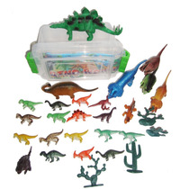 Box 50 Brinquedos Miniaturas Dinossauros ,ñ Lego Dino Magic