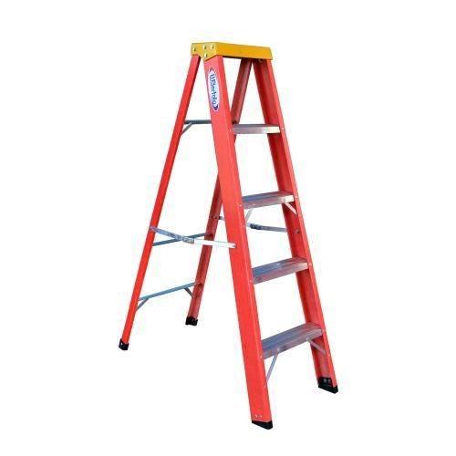 Escada De Fibra De Vidro 5 Degraus 1,80 M Residencial - Rf6