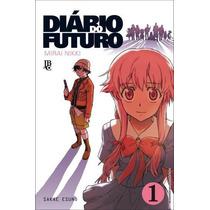 Mangá Diário Do Futuro / Mirai Nikki Vários Volumes