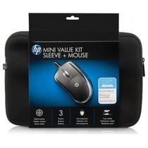 Case Neoprene P/ Tablet E Netbook 10.1 + Mouse Usb Orig. Hp