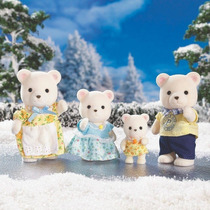 1476 Sylvanian Families Família Dos Ursos Polares