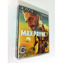 Max Payne 3 - Ps 3 - Lacrado - Americano