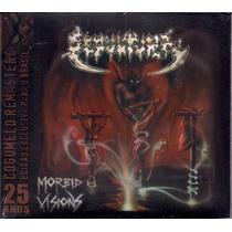 Cd Sepultura - Morbid Visions/bestial Devastation (remaster)