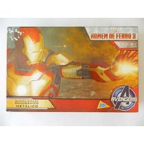 Quebra Cabeça Puzzles Homem De Ferro 3 - 250 Peças Completo