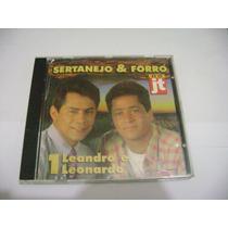 Cd - Leandro E Leonardo Sertanejo E Forro No Jt