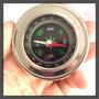 Bússola De Bolso Pocket Compass Aço Inoxidável
