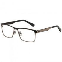 Armação Óculos Grau Fórum F6005i0655 Azul Cobre - Refinado