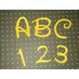 50 Recortes - Letras E Números - Scrapbooking