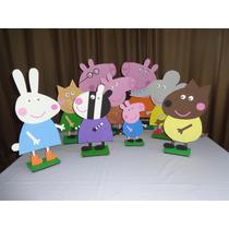 Kit Festa Decoração Peppa Pig E Seus Amigos