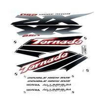 Kit Jogo Adesivo Honda Xr250 Tornado 2003 Branca