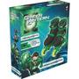 Patins Ajustável Lanterna Verde 37 Ao 40 By Kids Preto Verde