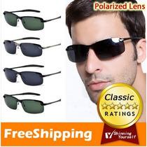 Óculos De Sol Masculino Esportivo Polarizado Proteção Uv