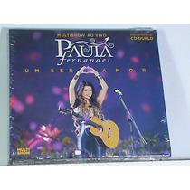 Cd - Paula Fernandes - Box Com 02 Cds (novos, Lacrados)