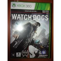 Watch Dogs - Xbox 360 - Signature Edition (em Português)
