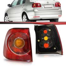 Lanterna Polo Sedan 2007 2008 2009 2010 2011 Esquerda Curva