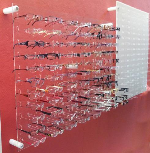 c50738752fd3e Painel Expositor 670x1000 P  66 Óculos Acrílico Transparente. R  339