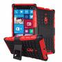 Capa Armadura Anti-queda Celular Lumia 830+pelícura Vidro