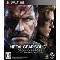 Metal Gear V Ground Zeroes Ps3 - Legendas Pt-br - Código Psn