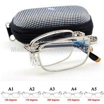 Óculos Com Armação Dobrável Para Leitura Frete Grátis