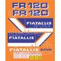 Kit Adesivos Fiatallis Fr 120 - Decalx
