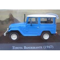 Toyota Bandeirantes 1967 Carros Inesqueciveis 1/43 Ixo