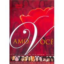 Dvd Amo Você - Mk Clipes (original/lacrado)