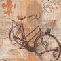 Kit Com 20 Guardanapos Para Decoupage Bicicleta Vintage