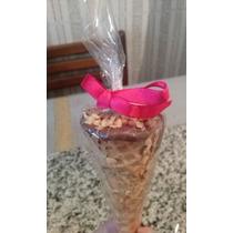 Mini Cones Trufados - 10 Unidades - R$ 15,00