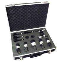 Kit De Microfones Para Bateria + Case + Clamp Mxds 7