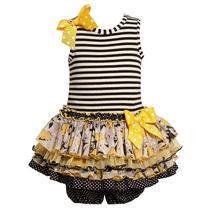 Bonnie Bebe Sequin Tutu Vestido Bailarina 2 Peças 6 A 9 M
