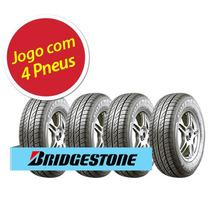 Kit 4 Pneu Aro 13 Bridgestone 175/70r13 Potenza Re 740 82t