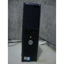 Cpu Dell Optiplex Gx620, Intel Pentium D, Hd 80, 1gb Ram, W7