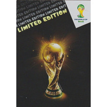 Cards Copa 2014 Adrenalyn Troféu Taça Limited Edition