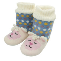 Pantufa Animal Booties Ovelhinha, Animal Booties, Pantufa