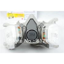 Respirador Mascara Semi Facial 3m 6200 Epi Pintura Completa