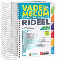 Vade Mecum Universitário De Direito Rideel 2º Semestre 2016