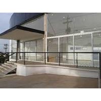 Barras Predios/edificio/lojas/hotel Inox 38 Mm Metro