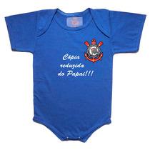 Body E Camiseta Infantil Times De Futebol
