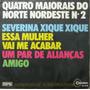 Quatro Maiorais Do Nordeste Nº 2 Compacto Musica Brega