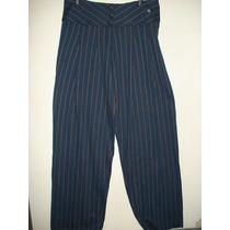 Calça Pantalona Da Via Aquarela Tam M Nova