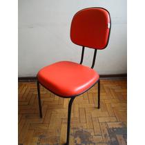 Cadeira Secretária Fixa Sem Uso..preço P/ Retirar No Local.