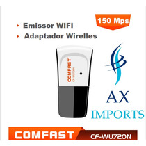Adaptador Wifi Chipset Ralink 5370 Compativel Com Receptores