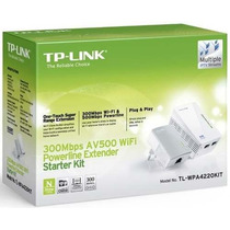 Powerline Extender 300mbps Wifi Av500 Tl-wpa4220 Kit