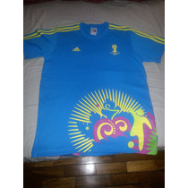 Blusa Adidas Voluntarios Copa Do Mundo 2014