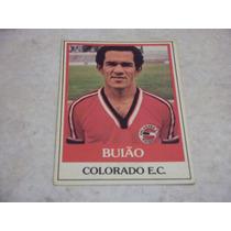 Buião - Ping Pong Futebol Cards - Nº 385 - Colorado