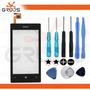 Tela Touch Nokia Lumia N520 520 C/ Aro + Kit Ferramentas