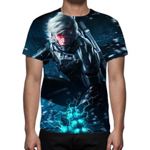 Camisa, Camiseta Game Metal Gear Solid - Estampa Total